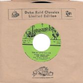 Justin Hinds & The Dominoes - The Road Is Rough / Tommy McCook - Look Away (Treasure Isle ) 7""